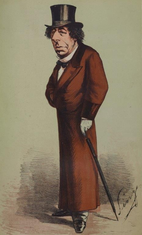 Benjamin 'Dizzy' Disraeli was the first cartoon to appear in Vanity Fair magazine in 1868. As a consequence of Disraeli's caricature, circulation soared to 2,500 from next to nothing.