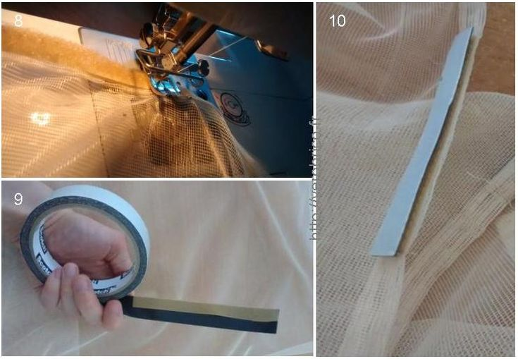 how to make a mosquito net fabrication d 39 une moustiquaire diy pinterest. Black Bedroom Furniture Sets. Home Design Ideas
