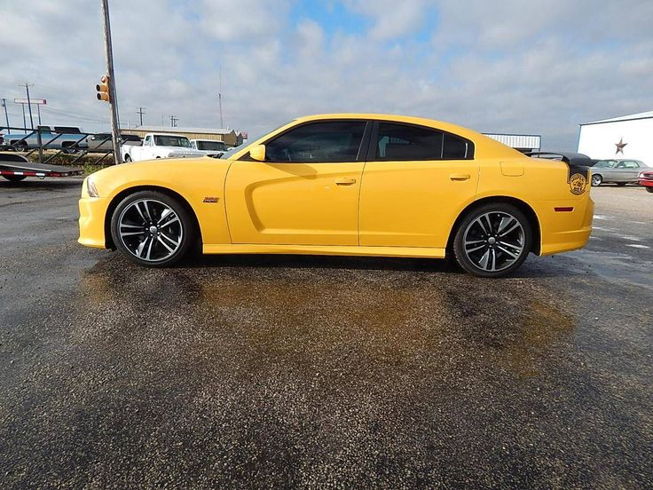 2012 Dodge Charger SR/T Super Bee