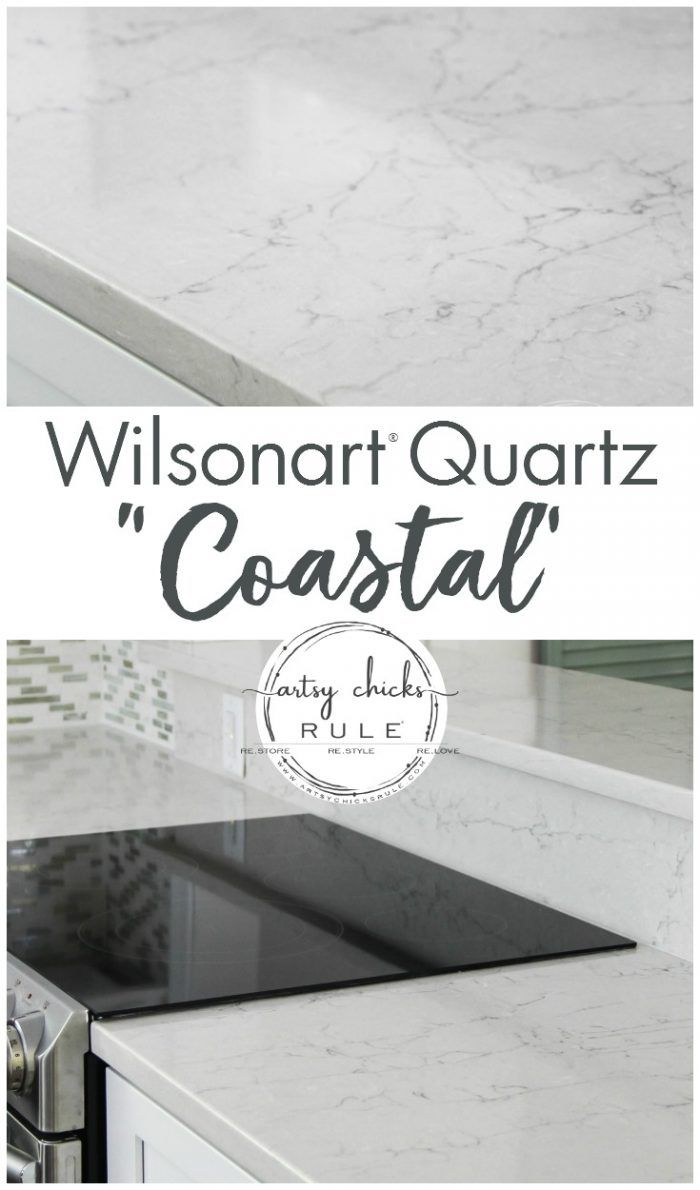 Kitchen Countertop Reveal Wilsonart Quartz Coastal Wilsonart