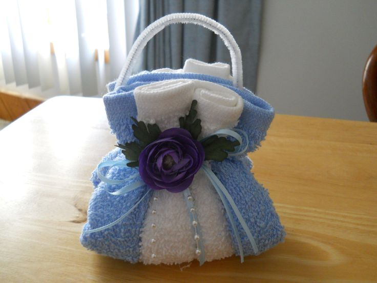 Washcloth Purse Soap Holder  Party Ideas  Gteaux en
