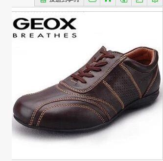 GEOX оригинальный сингл обувь Geox дышащая мужская первый слой кожи обуви, кожи случайные европейские и американские большие ярдов Супер - Taobao