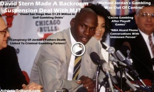 The Real Reason Why Michael Jordan Retired In 1993! David Stern Secretly Suspended Him For Gambling! Epic Video Explained Here!