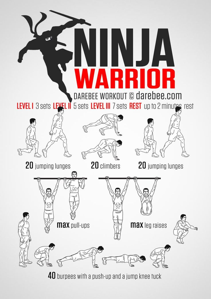 Ninja Warrior Workout