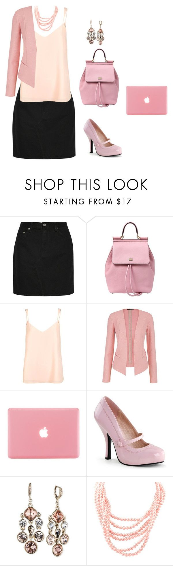 """When u watch legally blonde and wanna be a lawyer"" by maddmae ❤ liked on Polyvore featuring rag & bone, Dolce&Gabbana, River Island, maurices and Givenchy"