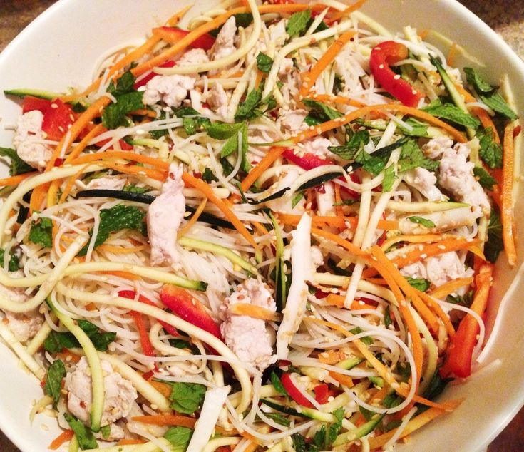Asian chicken salad - Powered by @ultimaterecipe