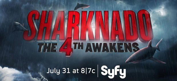 SHARKNADO 4 THE 4TH AWAKENS Title Premiere Date Announced