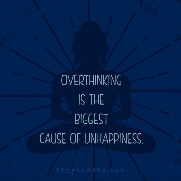 Overthinking...                                                                                                                                                                                 More