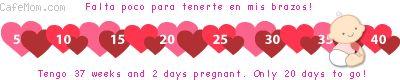 daisy 36 semanas de embarazo