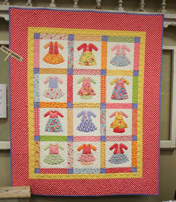 Baby Quilt Patterns Kits | Requrires 1 1/4 yard for backing.