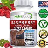 100% Pure Raspberry Ketone COMPLEX ULTRA 1200mg Weight Loss Pills Thermogenic Effect  Green Tea Extract African Mango Grape Seed Extract  60 Veggie Capsules