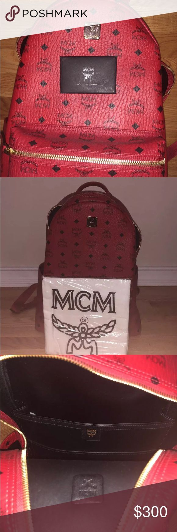 mcm backpack i sell cheap , authentic and multiple items so if you wanna buy text me @ 402-981-5572 MCM Bags Backpacks