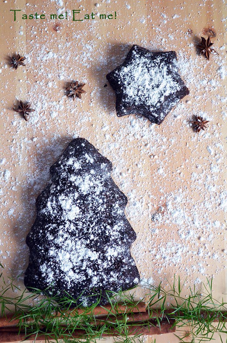 Taste me! Eat me!: Ciasto bardzo czekoladowe z pieczonymi burakami