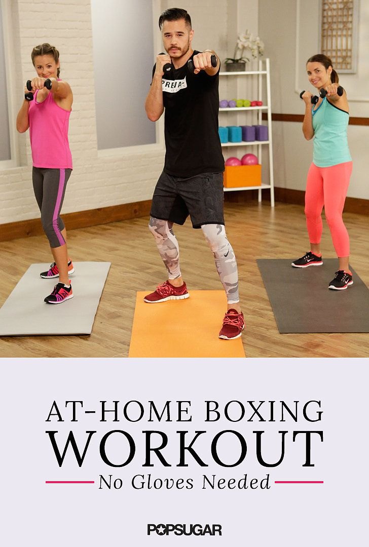 This At-Home Boxing Workout Is a Knockout