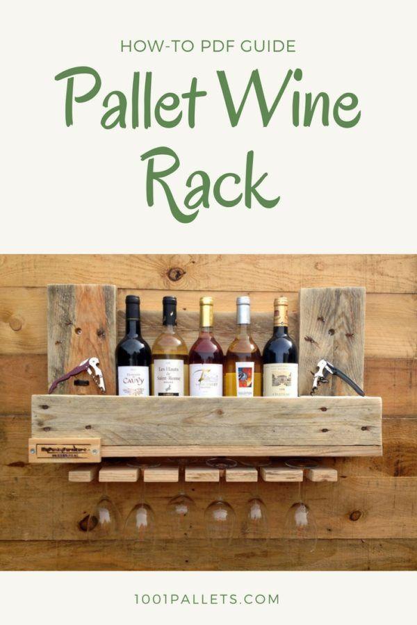 Diy Pdf Tutorial Pallet Wine Rack 1001 Pallets Free Download
