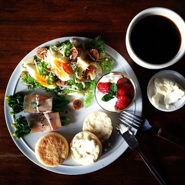 Today's breakfast. Scones スコーン - @keiyamazaki- #webstagram
