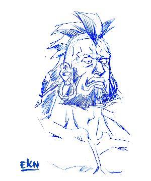 GIF ANIMADO de Katsumo (Proceso de ilustración) por EKN. CIBERCALI COMICS (Avances) - Comunidad - Google+