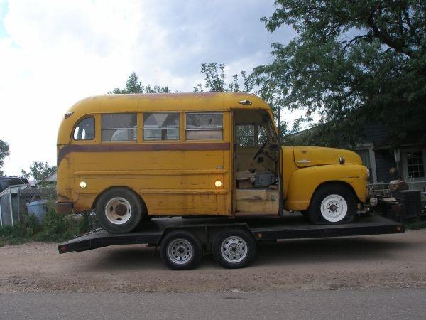 1953 short bus enough said school buses pinterest. Black Bedroom Furniture Sets. Home Design Ideas