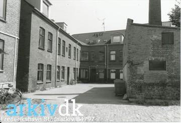 arkiv.dk | Danmarksgade 14, Frederikshavn - baggården 1993