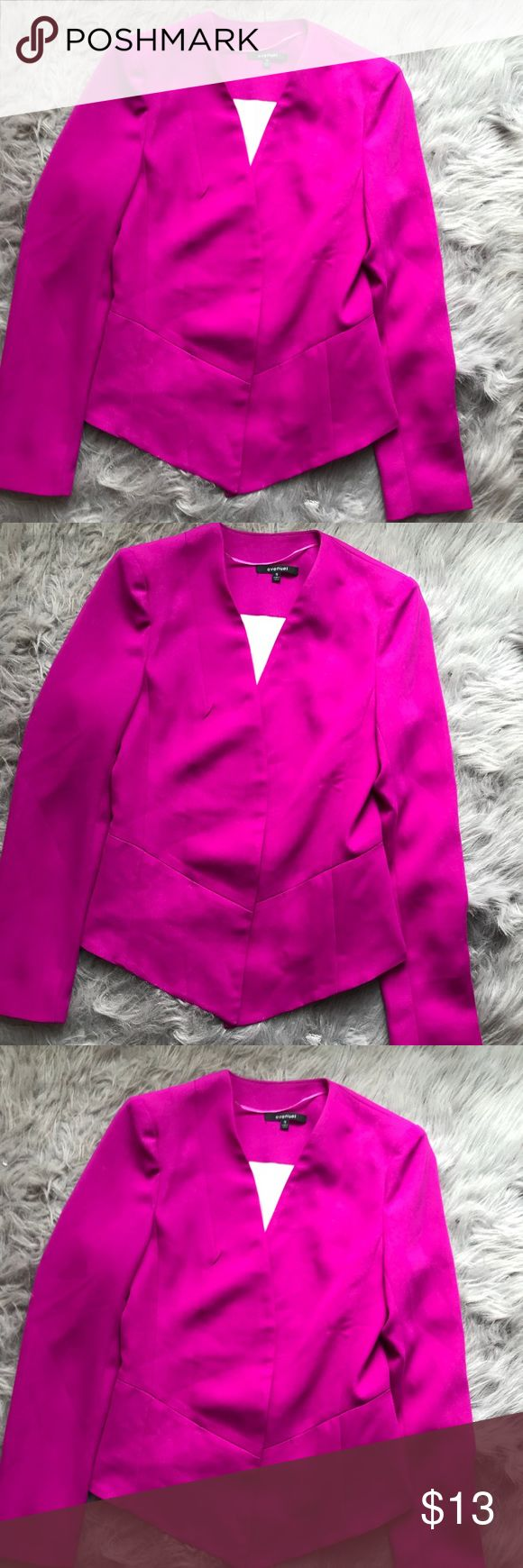Purple blazer New without tags open front purple blazer, no rips tears, stains or smell Jackets & Coats