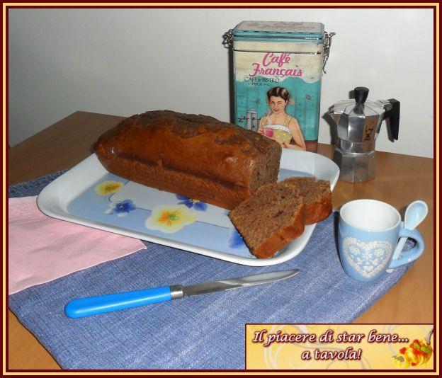 Il piacere di star bene... a tavola!: Plumcake soffice al caffé