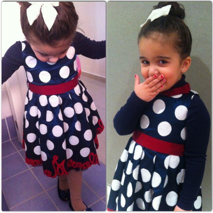 Loving the Monnalisa signature dress!!