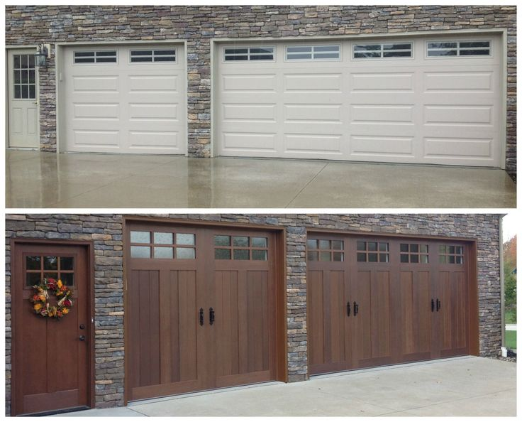 ... Give The Appearance Of Authentic Swing Out Doors, But Have The  Convenience Of Modern, Upward Operation. Install By Plyler Overhead Door  Company.