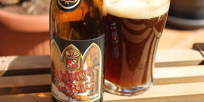 Cerveza Abbaye des Rocs Brune