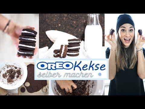 Oreo Kekse selber machen - gesundes Rezept ohne Zucker & Butter - vegan - einfaches DIY - YouTube