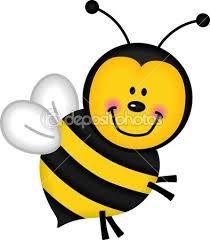 Výsledek obrázku pro kreslené obrázky včely