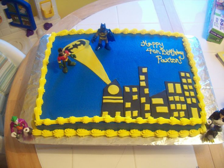 batman cakes | the cake i just love the nightscapes on these batman cakes white cake ...