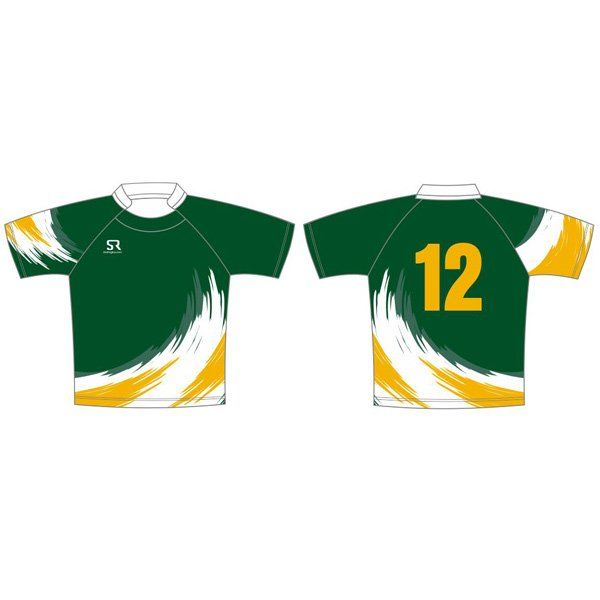Swirl sublimated custom shirt from Stud Rugby
