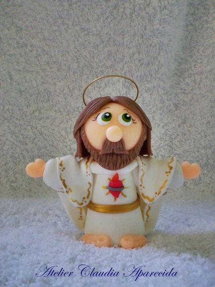 Para comprar: http://www.elo7.com.br/jesus-cristo-ressuscitado-8-cm-altura/dp/4B3DDB