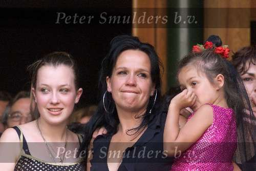 Xandra Brood, Lola & Holly at Hermans funeral #hermanbrood
