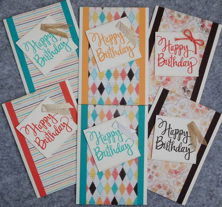 Little Paper Party, Stampin' Up! Demonstrator Karen Robinson - Australia, Stamp-a-Stack January 2017, Stylized Birthday, Cupcakes and Carousels DSP.jpg