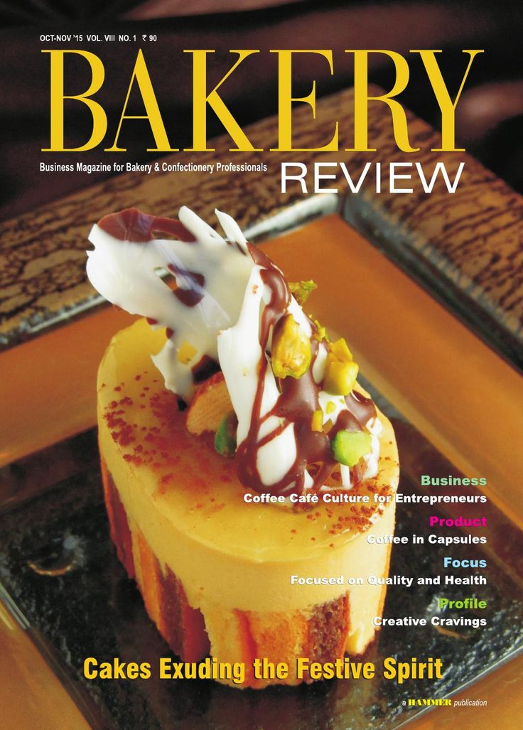 Bakery Review ( Oct-Nov 2015) Business Magazine for Bakery & Confectionery Professionals.  In this issue, we have covered the cake making trends for the festive season of the Christmas and the New Year. The feature also focuses on the growing trend of healthy cakes, and customised cakes. The pragmatic steps to succeed in the coffee cafe or bakery cafe business in India are being suggested in our Business Story. The nascent trend of coffee and tea capsules, which have the potential to impact…