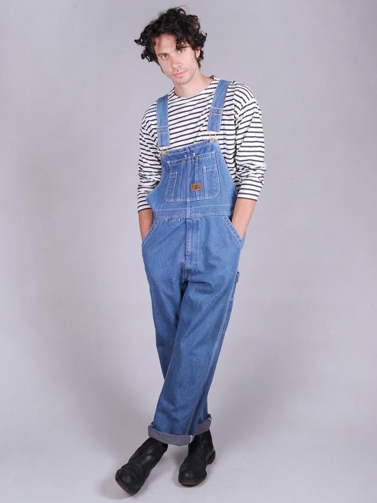 Vintage 80's denim dungarees £45 | Guarda-roupas ...