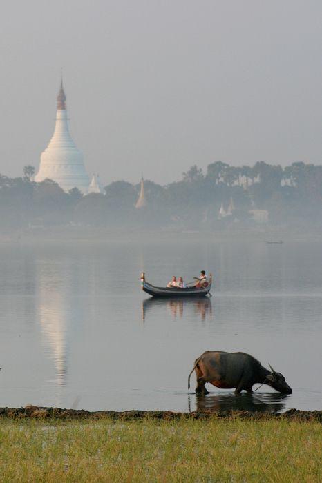 Taungthaman Lake, Amarapura, Myanmar Copyright: Marcello Giunchi