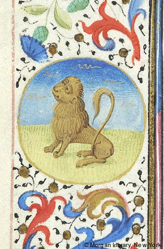 Book of Hours, MS M.28 fol. 7v - Images from Medieval and Renaissance Manuscripts - The Morgan Library & Museum