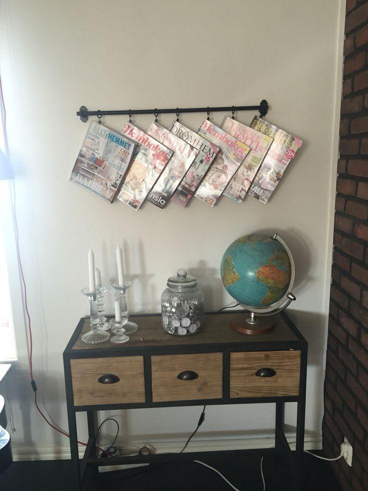 My way to display the magazines.