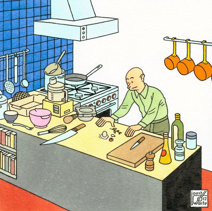 Joost Swarte, La Cucina, 2012
