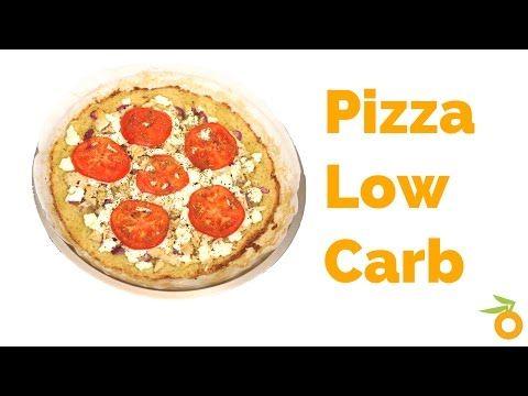 Pizza Low Carb de Frango com Falso Catupiry   Nutrição, saúde e qualidade de vida