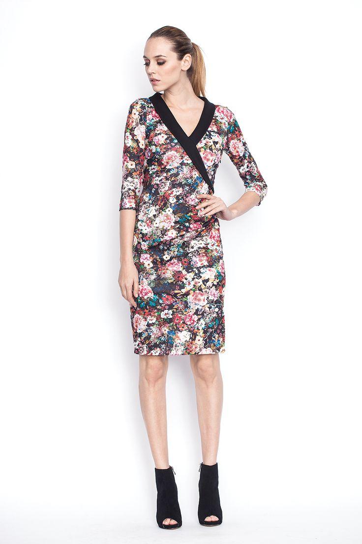 www.nissa.com  #nissa #outfit #fashion #style #model #fashionista #beautiful #floral #dress