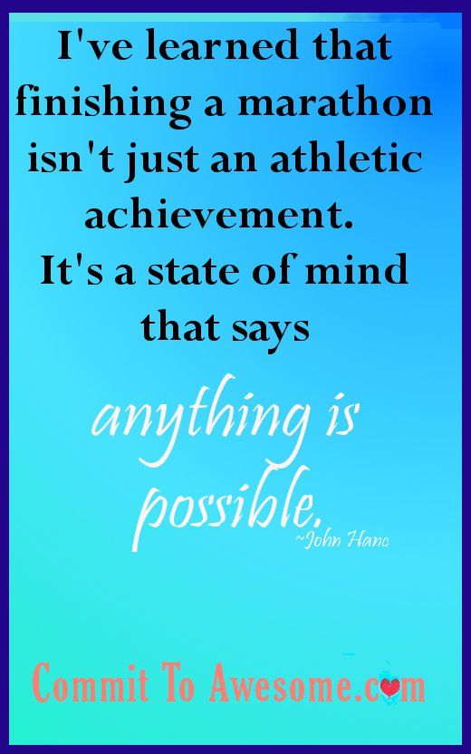 Anything is Possible! #running