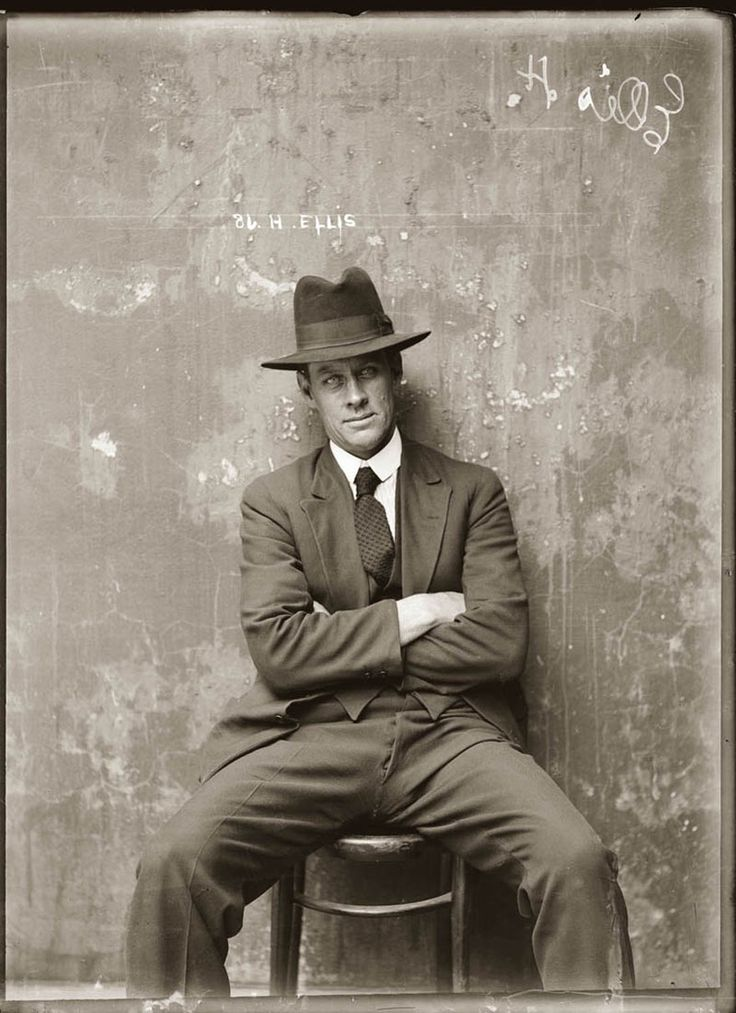 cool-police-mugshots-1920-Ellis when bad guys were badass