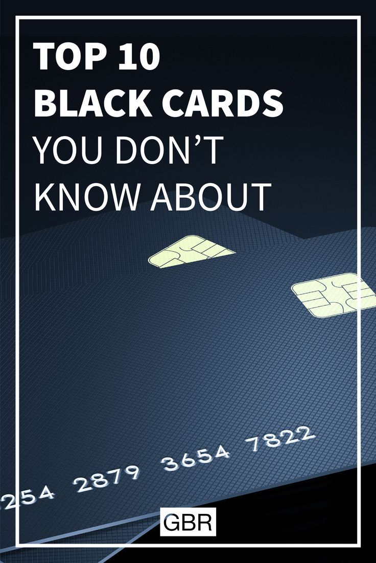 Top 10 Most Exclusive Black Cards You Didn T Know About Small Business Credit Cards Secure Credit Card Credit Card