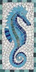 Peacock Mosaic Pattern | Mosaic Kits - Martin Cheek a Course in a Kit