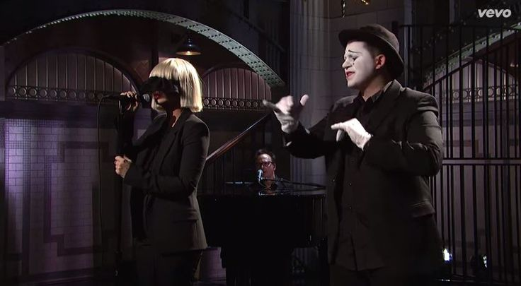 sia chandelier performance - Google Search