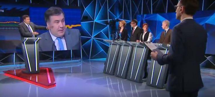 """Екс-президент Грузії і екс-глава Одеської області Михайло Саакашвілі шокував патріотичну українську громадськість, заявивши, що вона насправді не знала, що таке справжня """"російська агресія"""".  Українська влада забрехалася настільки, пояснив він, що український народ більше не вірить в її розповіді про цю """"агресії"""" і """"злом Путіна"""". Про це політик заявив в ефірі програми """"Свобода слова"""" від ..."""