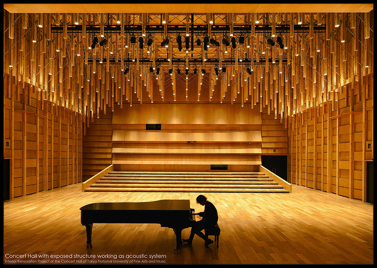 World Interior of the Year Award Announces Best Interiors of 2014 - Concert Hall of Tokyo National University of Fine Arts and Music